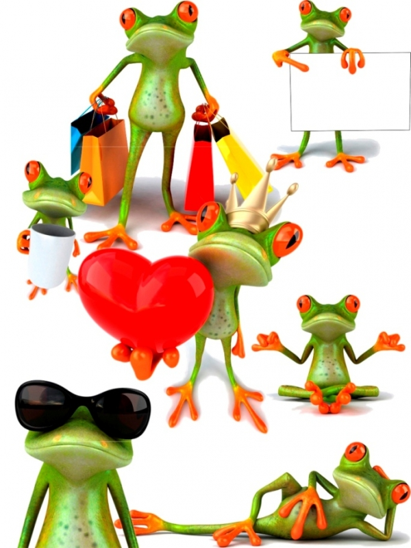 Кипарт-Модная Лягушка