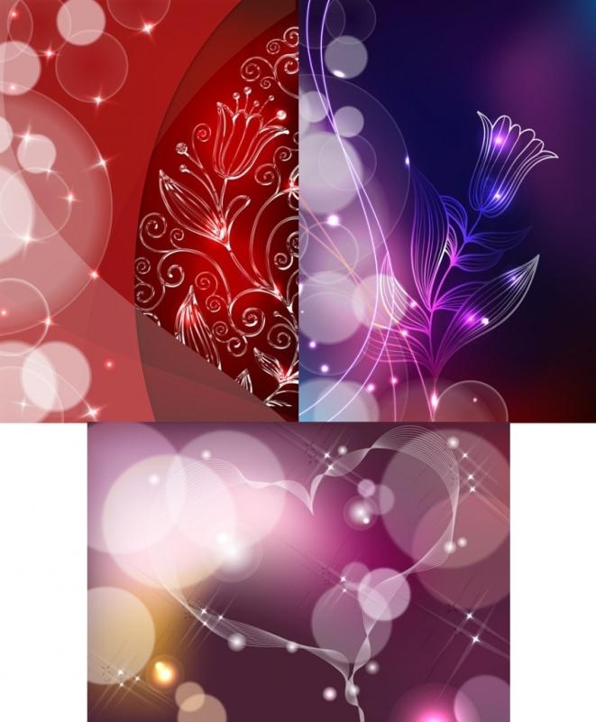 Романтичные Фоны-Рамочки__PSD(многослойные)