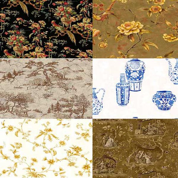 Текстуры - Китайские  мотивы
