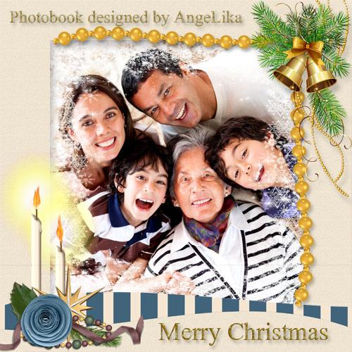 Рождественская фотокнига - Семейный праздник