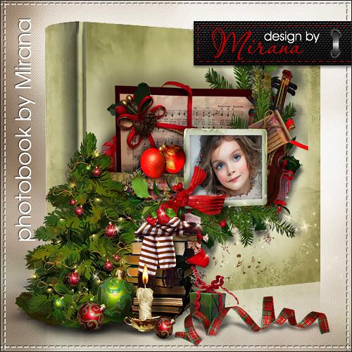 Шаблон фотокниги-календаря на 2013 год - Времена года