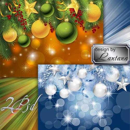 PSD исходники - Новогодняя история