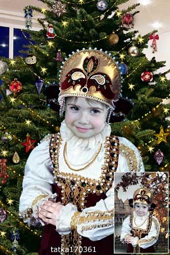 Детский костюм девочкам - Царская наследница