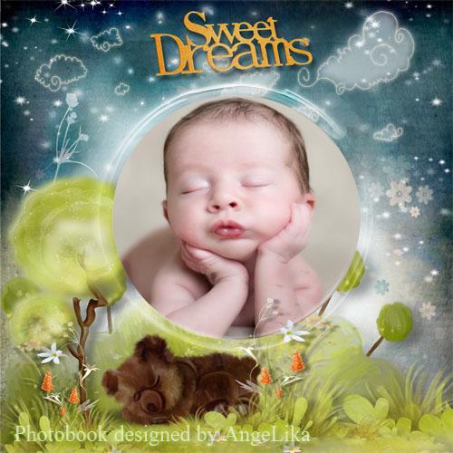 Фотокнига для малышей - Сладкие сны