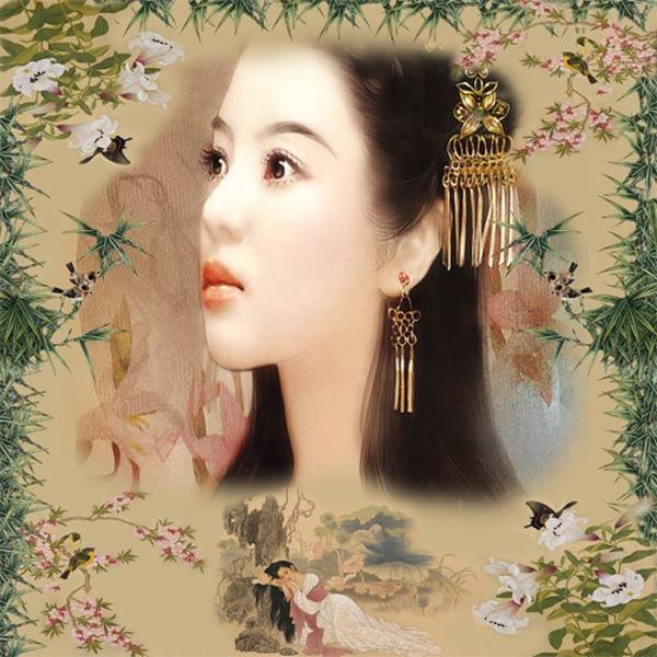 Рамка женская - Картинка из Поднебесной