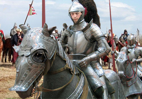 Мужской шаблон для фотошопа - Рыцаский поход