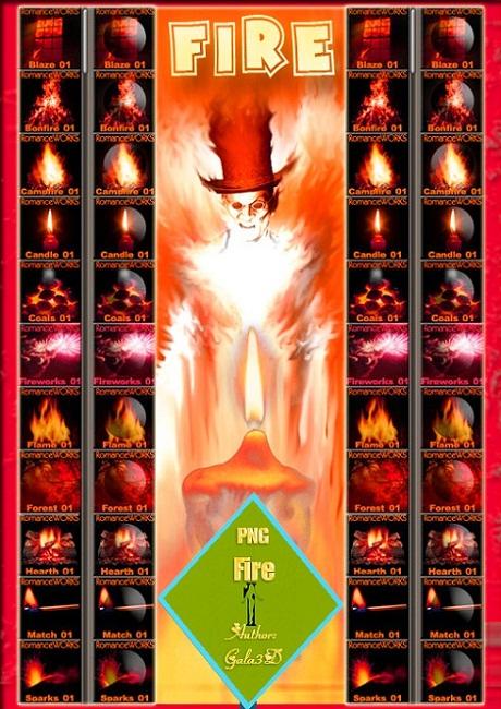 Пламя в Png