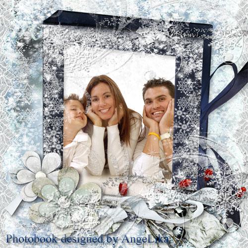 Фотокнига для всей семьи - Зимняя сказка в лесу