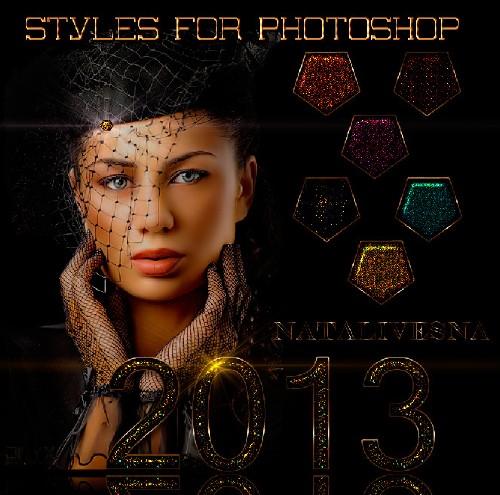 Стили  для Дизайна - Гламурный Блеск 2013