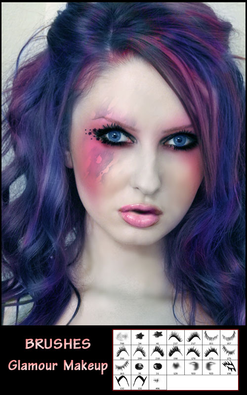 Кисти - Гламурный макияж