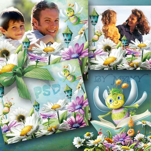 Фоторамка детская - Пчелиный городок