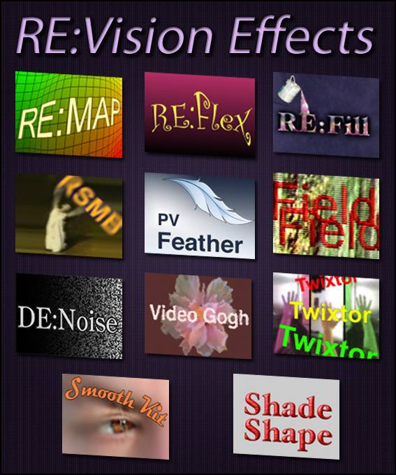 Набор плагинов для фотошопа RE-Vision Effects