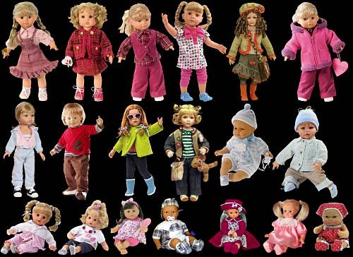 Клипарт - Куклы