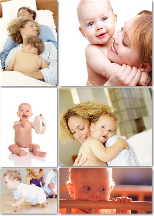 Растровый клипарт - Материнские чувства