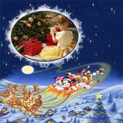 Рамка детская - Новогодняя ночь