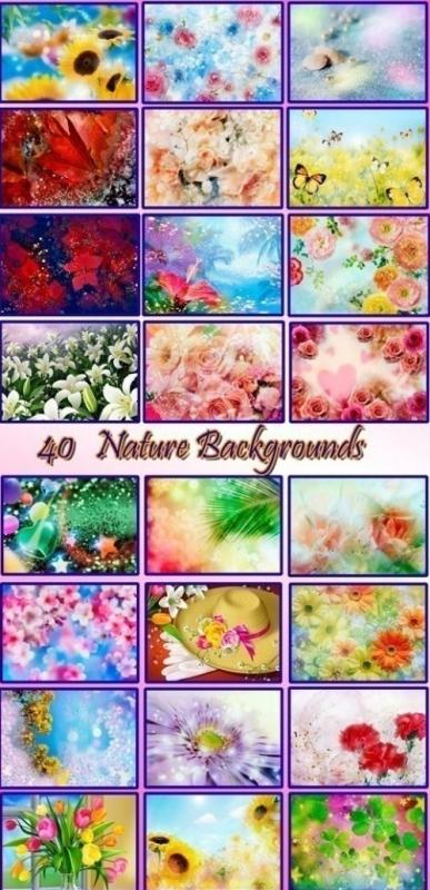 Сборка Цветочных Фонов для ВСЕХ