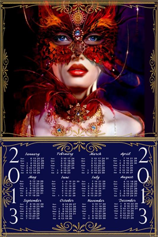 Календарь - Таинственная незнакомка