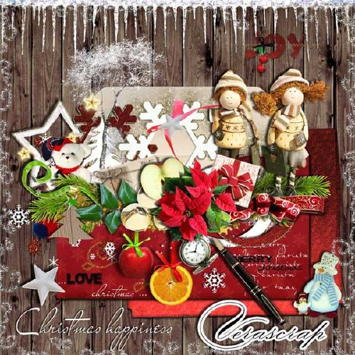 Рождественский скрап-набор - Рождественский счастливчик