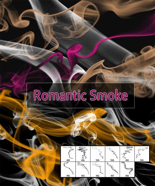Кисти для Photoshop - Романтический дым
