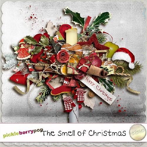 Рождественский скрап-набор - Пахнет Рождеством