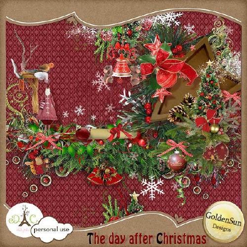 Яркий зимний скрап-набор - На следующий день после Рождества