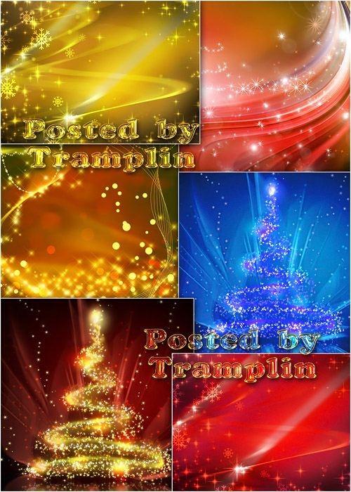 Новогодние фоны - New year backgrounds