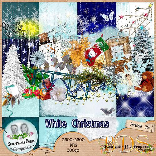 Скрап-набор: Снежное рождество