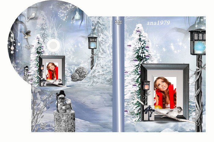 Обложка для двд – Зимний вечер