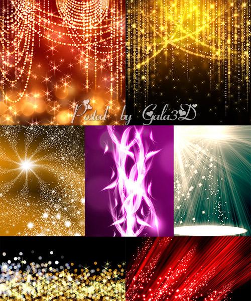 Яркие и праздничные фоны
