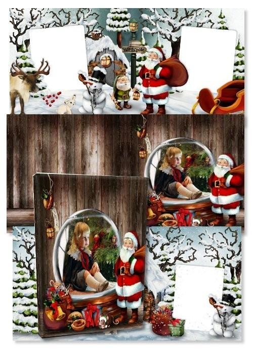 Фотокнига - Фрагменты памяти о Рождестве