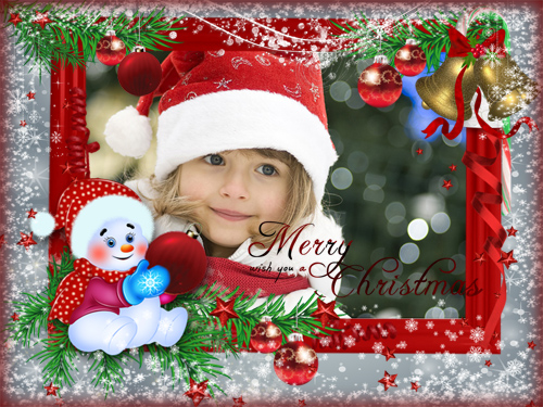 Фоторамка - Merry Christmas