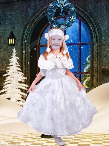 Шаблон для фотошопа - Рождественская снежинка
