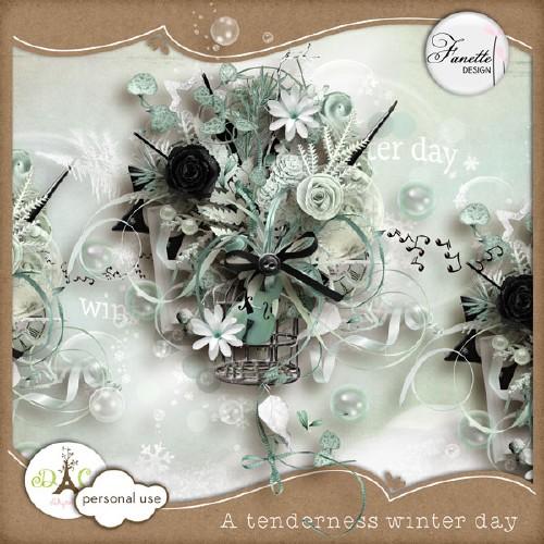 Зимний скрап-набор - Очаровательный зимний день