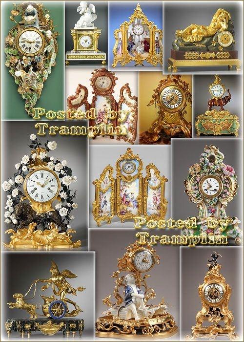 Старинные часы, антиквариат
