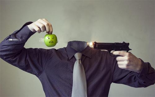 Шаблон мужской - в яблочко