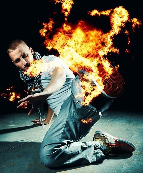 Кисти для Photoshop - Фотореалистичное пламя огня
