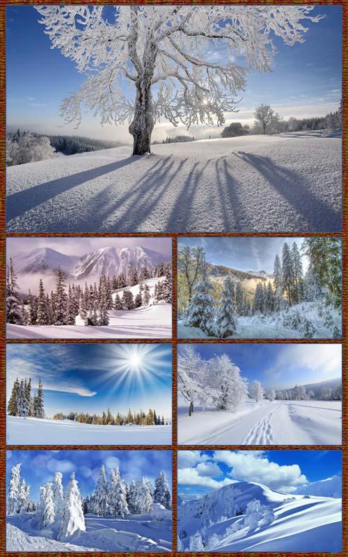 Обои - Зимний пейзаж 2