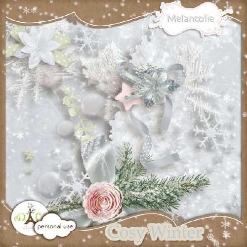 Зимний скрап-набор - Очарование зимы