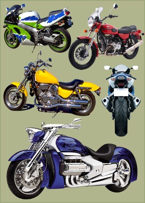 Клипарт - Мотоциклы