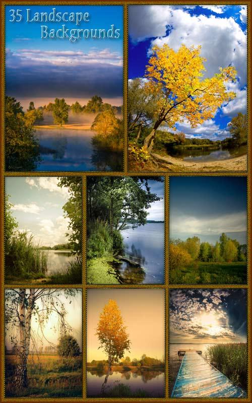 Фоны - Пейзаж природы