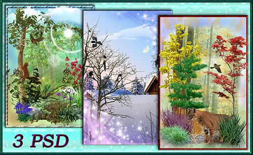 PSD исходники – Природа