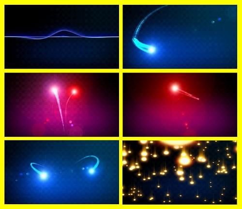 HD фоновый футаж со звездочками