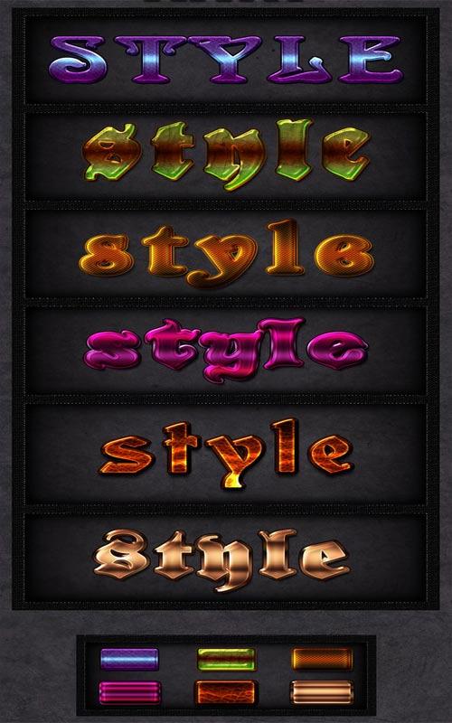 Стили - Текстовый микс 3