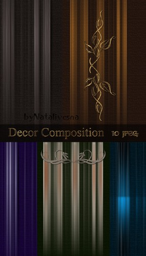 Текстуры – Декоративные композиции