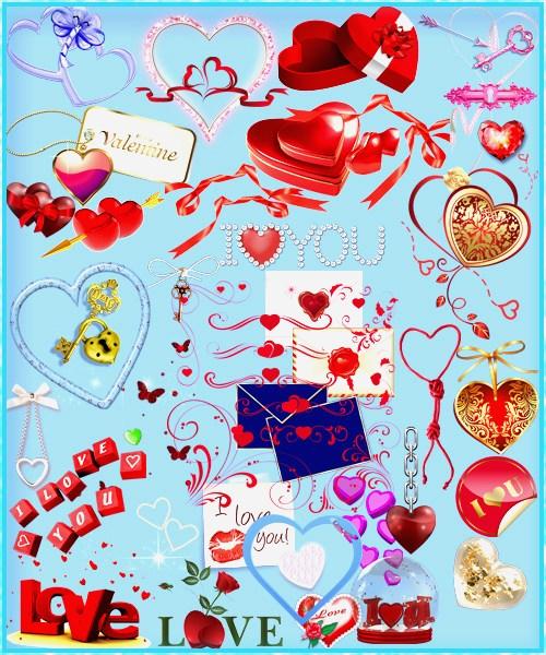 Клипарт PNG - День влюбленных