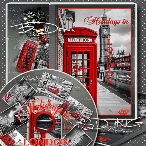 Набор для DVD - Каникулы в Лондоне