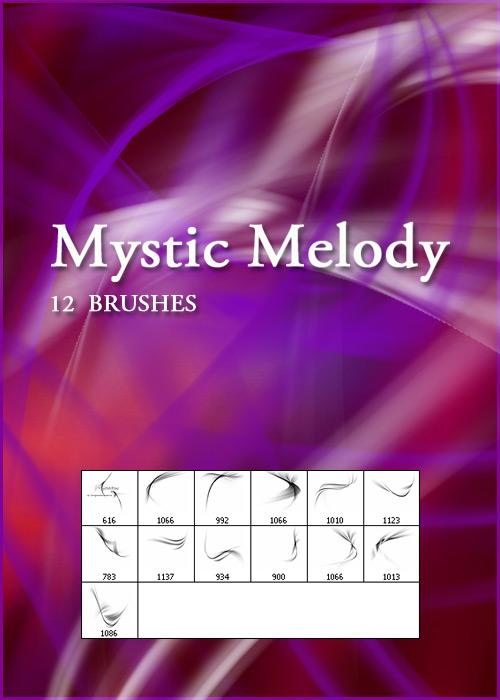 Кисти для фотошопа - Mystic Melody