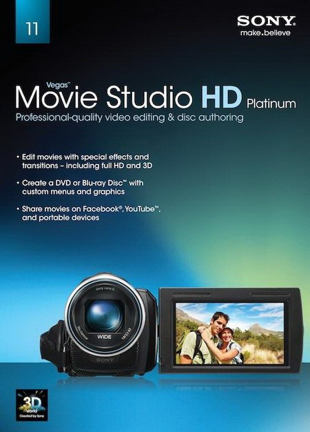 Sony Vegas Movie Studio HD Platinum 11.0 Build 295 Production Suite - Скача ...
