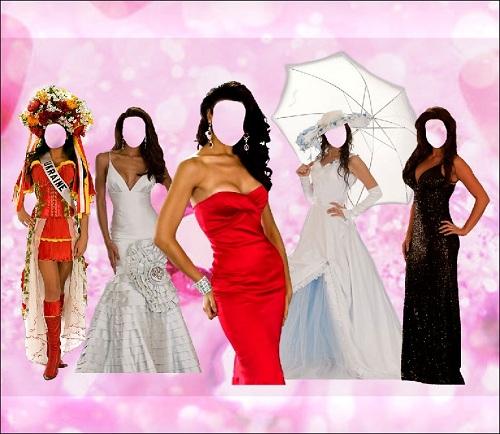 5 лучших нарядов мира - женские шаблоны
