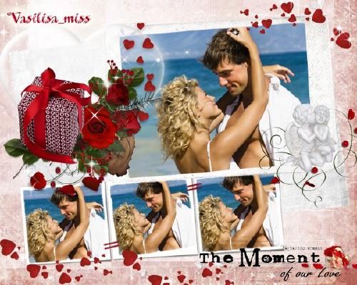 Романтическая рамка - Моменты любви